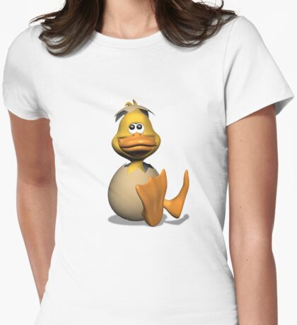 Eggy Womens Fitted T-Shirt