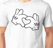 Mickey Heart Hands Unisex T-Shirt
