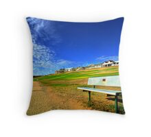Take A Sit Throw Pillow