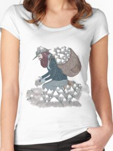 Mountain Man Women's Fitted Scoop T-Shirt