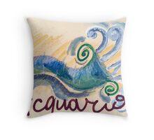 acquario Throw Pillow
