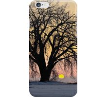 Cottonwood Cold Sunrise iPhone Case/Skin