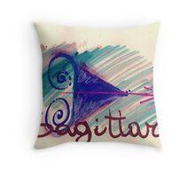 sagittario Throw Pillow