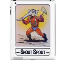 He-Man - Snout Spout - Trading Card Design iPad Case/Skin