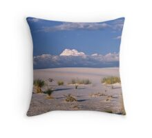 White Sands, New Mexico Throw Pillow