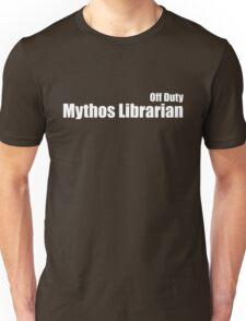 Off Duty Mythos Librarian Unisex T-Shirt