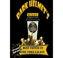 Dark Helmet's Coffee Photographic Print