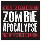 Zombie Apocalypse EXCITMENT by Tony  Bazidlo
