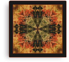 The Harvest Shawl Canvas Print