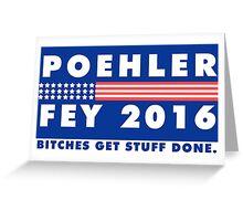 POEHLER + FEY 2016 Greeting Card