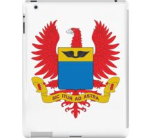 Coat of Arms of the Colombian Air Force  iPad Case/Skin