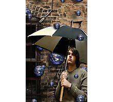 the world rains on me Photographic Print
