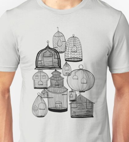 IF YOU LEAVE THE CAGE DOOR OPEN... Unisex T-Shirt
