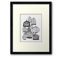 IF YOU LEAVE THE CAGE DOOR OPEN... Framed Print