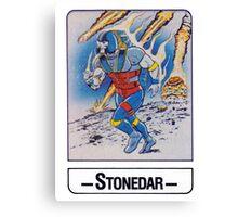 He-Man - Stonedar - Trading Card Design Canvas Print