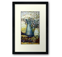 stil life with Euonymus Framed Print