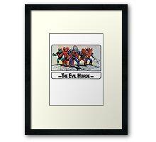 He-Man - The Evil Horde - Trading Card Design Framed Print