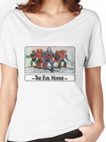 He-Man - The Evil Horde - Trading Card Design Women's Relaxed Fit T-Shirt