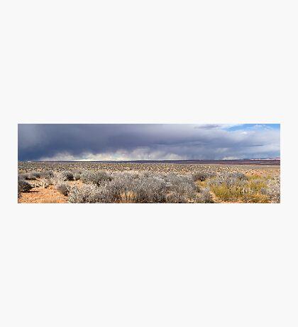 Storm front in Escalante, Utah Photographic Print