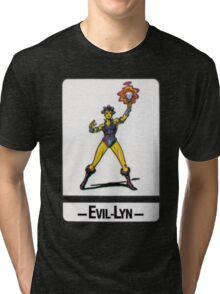 He-Man - Evil-Lyn - Trading Card Design Tri-blend T-Shirt