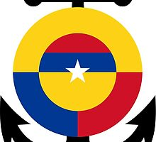 Roundel of the Colombian Naval Aviation  by abbeyz71