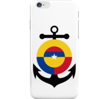 Roundel of the Colombian Naval Aviation  iPhone Case/Skin