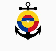 Roundel of the Colombian Naval Aviation  Unisex T-Shirt