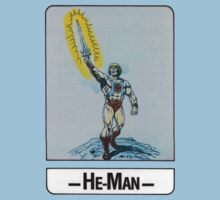He-Man - He-Man - Trading Card Design Kids Clothes