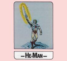 He-Man - He-Man - Trading Card Design Kids Tee