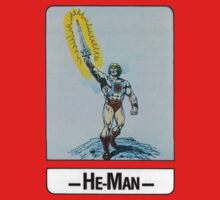 He-Man - He-Man - Trading Card Design Kids Tee