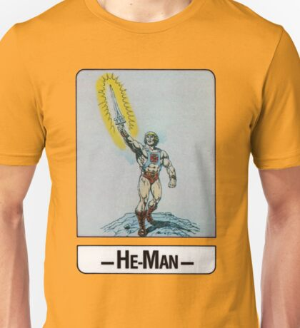 He-Man - He-Man - Trading Card Design Unisex T-Shirt