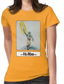 He-Man - He-Man - Trading Card Design Womens Fitted T-Shirt