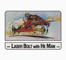 He-Man - Laser Bolt - Trading Card Design One Piece - Short Sleeve