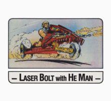 He-Man - Laser Bolt - Trading Card Design Kids Clothes