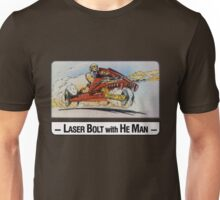He-Man - Laser Bolt - Trading Card Design Unisex T-Shirt