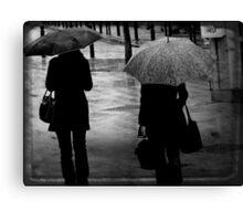 { rain } Canvas Print
