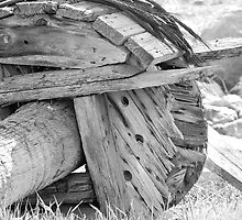 Old Wheel by CarolineB