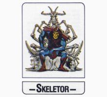 He-Man - Skeletor - Trading Card Design Kids Clothes