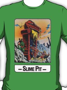 He-Man - Slime Pit - Trading Card Design T-Shirt
