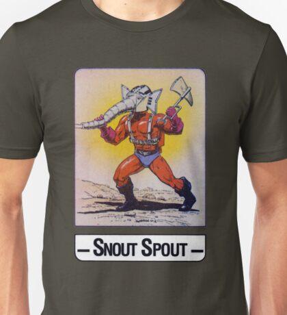 He-Man - Snout Spout - Trading Card Design Unisex T-Shirt