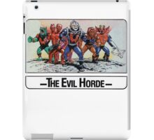 He-Man - The Evil Horde - Trading Card Design iPad Case/Skin