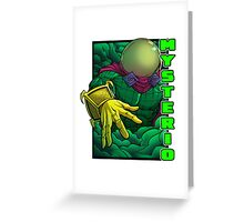 Mysterio Greeting Card