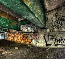 Bridge Graffiti by Ben Pacificar