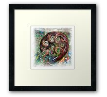 The Atlas Of Dreams - Color Plate 65 Framed Print