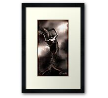 Im Your Nightmare Framed Print