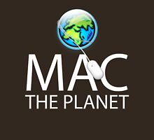 Mac The Planet White Text Unisex T-Shirt