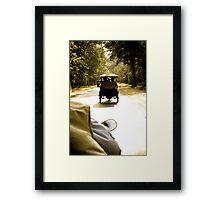 Tuktuk Chase - Siem Reap, Cambodia Framed Print