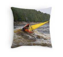 spear thru Throw Pillow