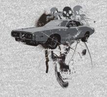 Charger Skull Art