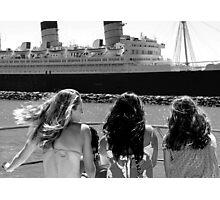 Just Breezy California Girls Photographic Print